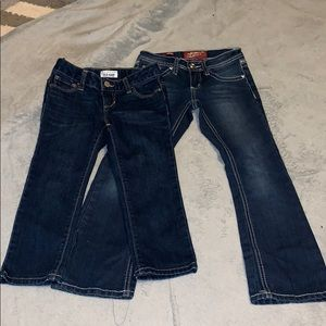 Other - Lot of girls size 7 jeans, 2 total